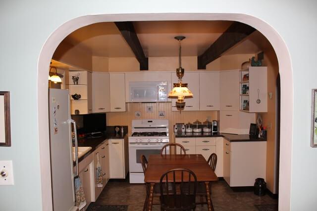 arch kitchen entry