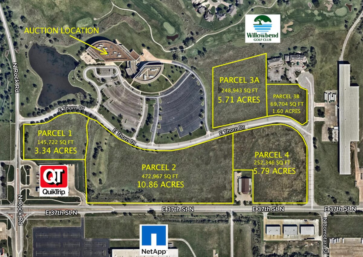 Premium Development Land, 37th & Rock Road, Wichita Kansas