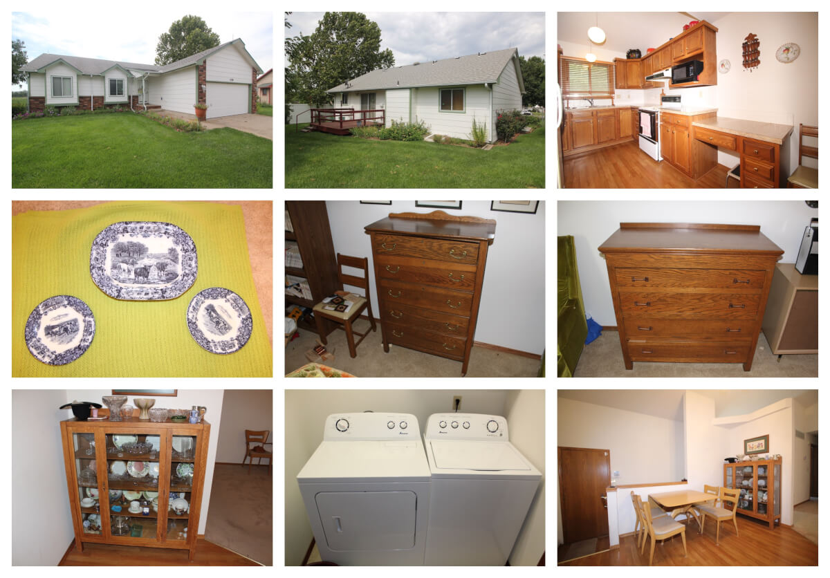 4 Bedroom 3 Bath Home & Personal Property – 720 Kansas Ct, Benton, KS 67017
