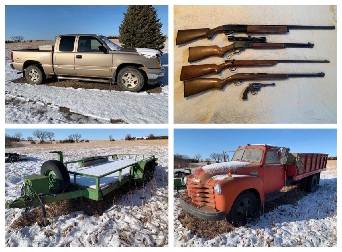 Vehicles, Equipment, Tools, Guns, & Furniture Auction-Estate of Steven Morgan