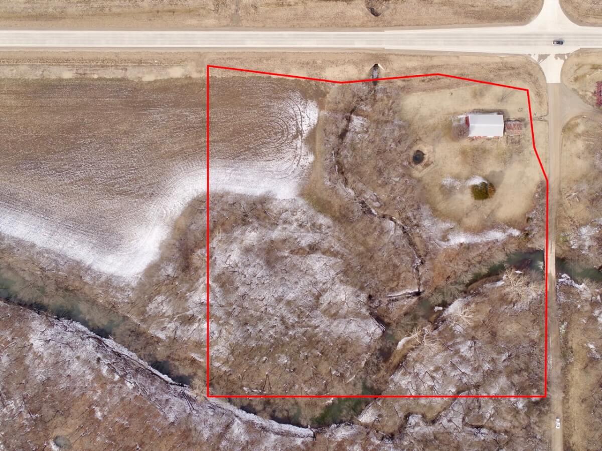 10+- Acres East of Altoona KS w/ Big Cedar Creek, Timber, Metal Building