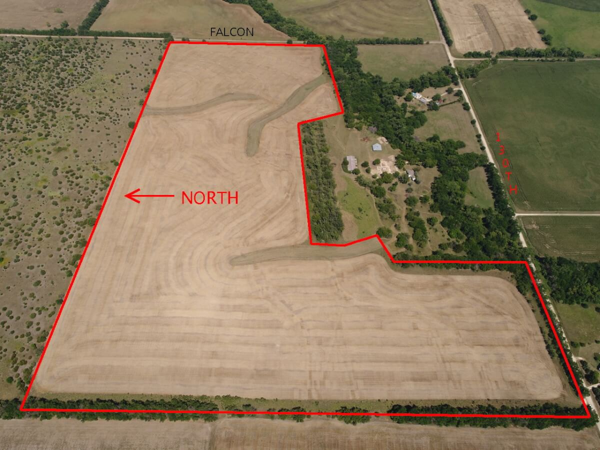 78.51 Acres Marion County Kansas Tillable Land East of Goessel