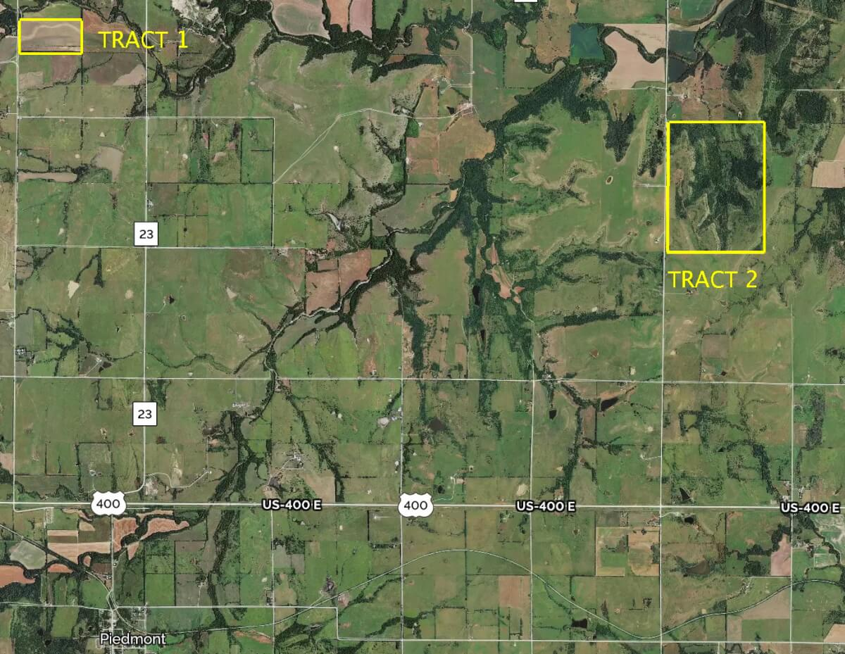 560+- Acres Greenwood County Kansas Tillable & Cattle Grazing Pasture For Sale