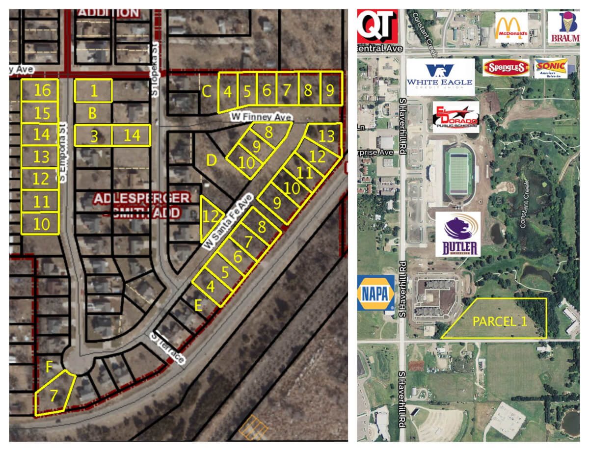 El Dorado Development Land & Lots-7 Acres near BG Products Stadium & 31 Residential Lots