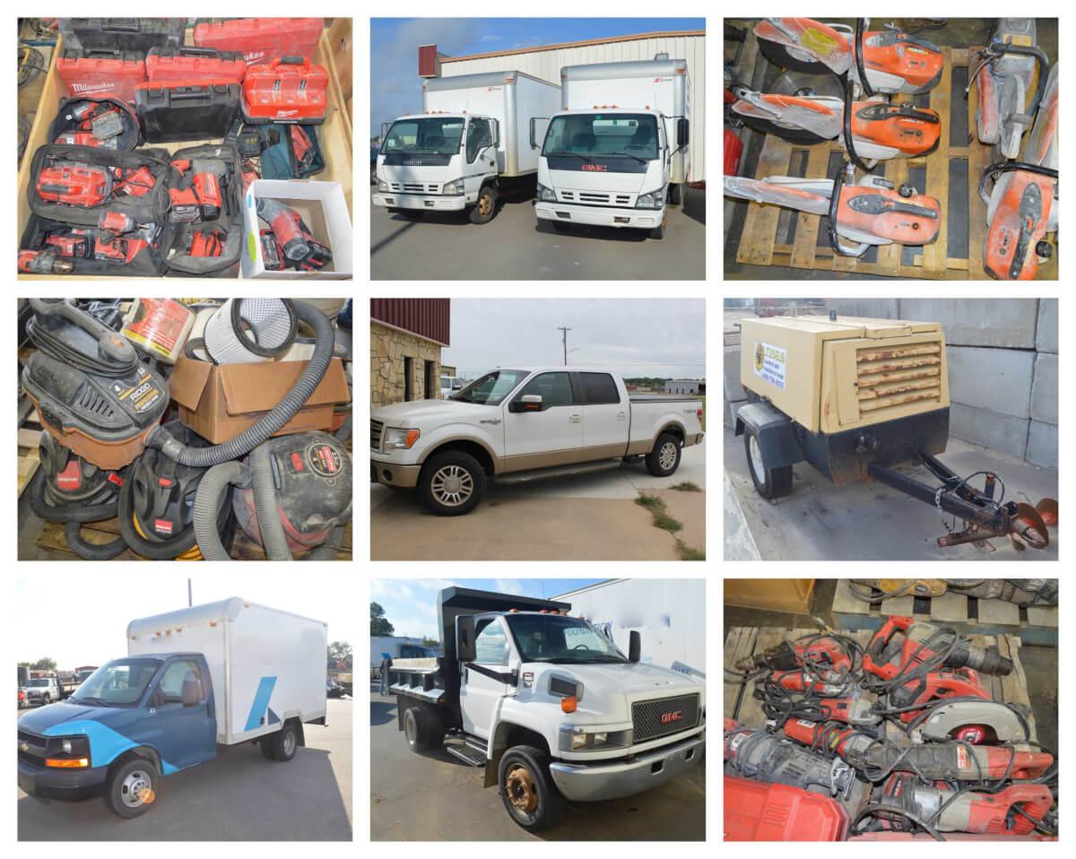 Box Trucks, F-150 King Ranch, Several Vehicles, Tools, Equip. Auction in El Dorado