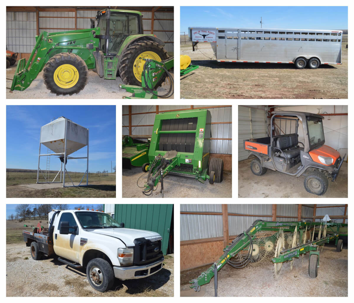 Farm, Cattle & Hay Equipment – Sundgren Auction