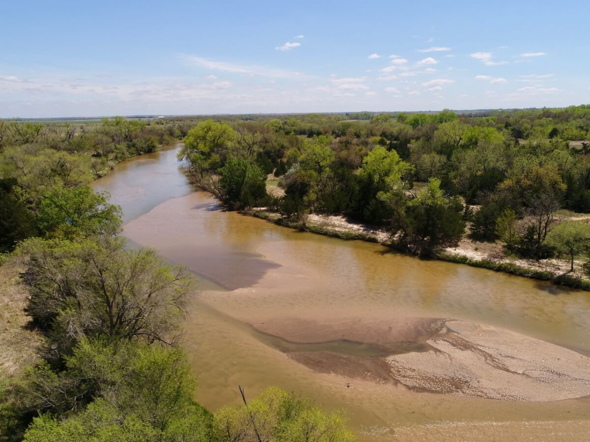 160+- Acres Kingman County Kansas Hunting & Recreation Land, Ninnescah River, Oil Income