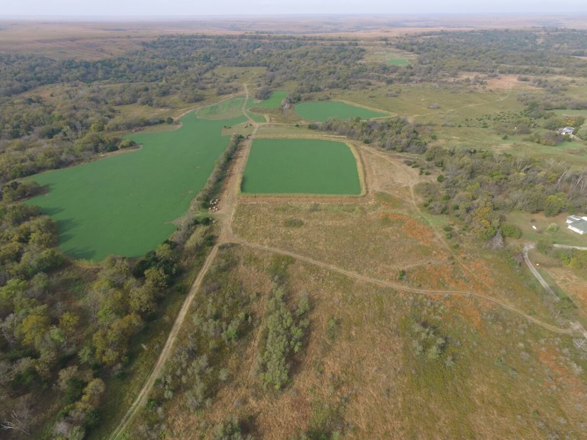 353+- Acres Greenwood County Ks Recreational Retreat Near Piedmont