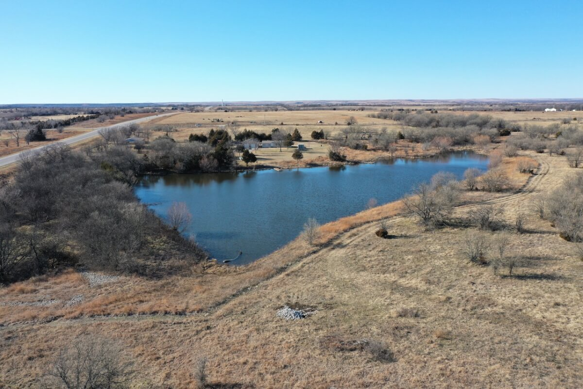 153+- Acres Greenwood County Kansas Land For Sale; Lake, Ponds, House, Pasture, & Timber