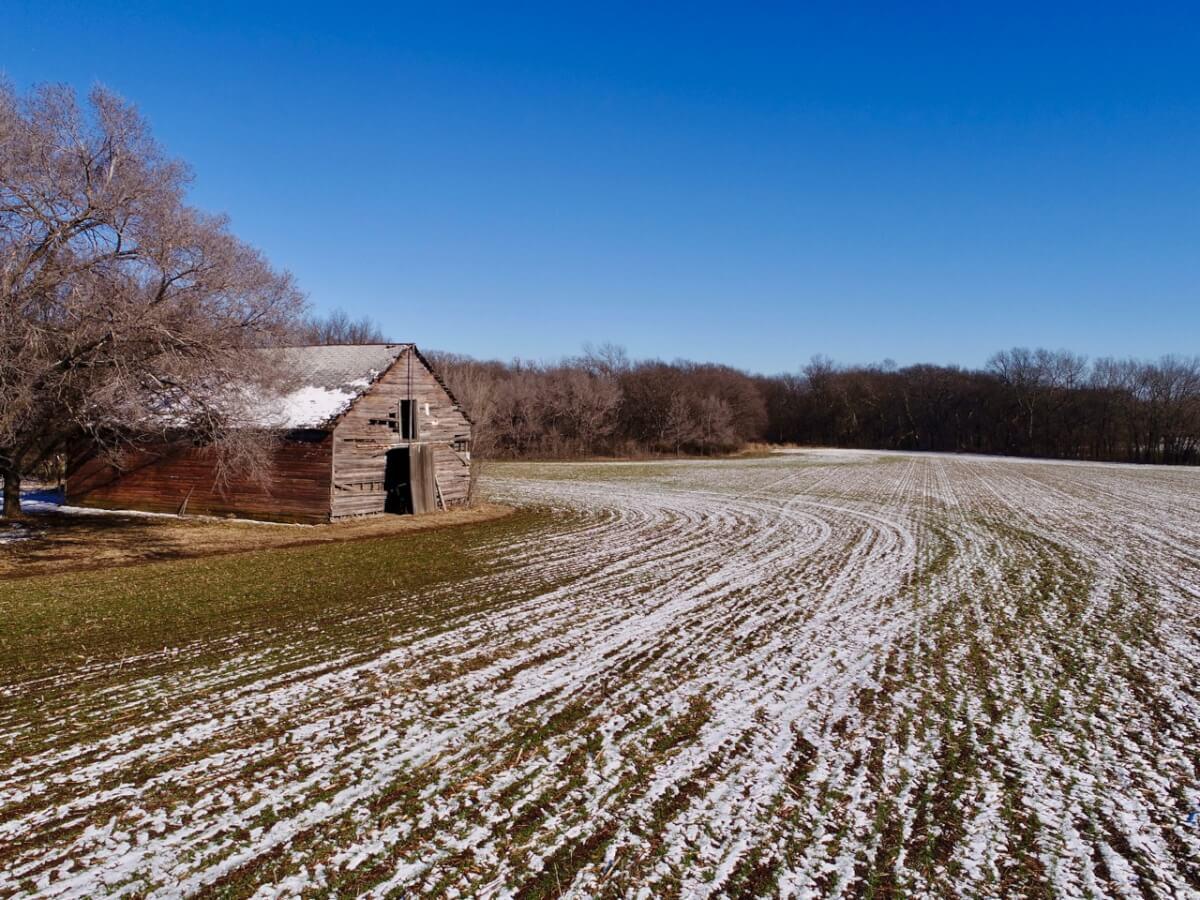 140+- Acres Butler County Kansas Creek, Tillable, Timber, & Improvements