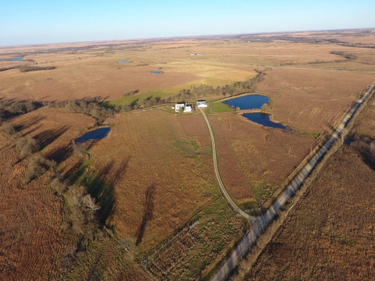 160+- Acres Greenwood County Kansas Land & Equipment Auction