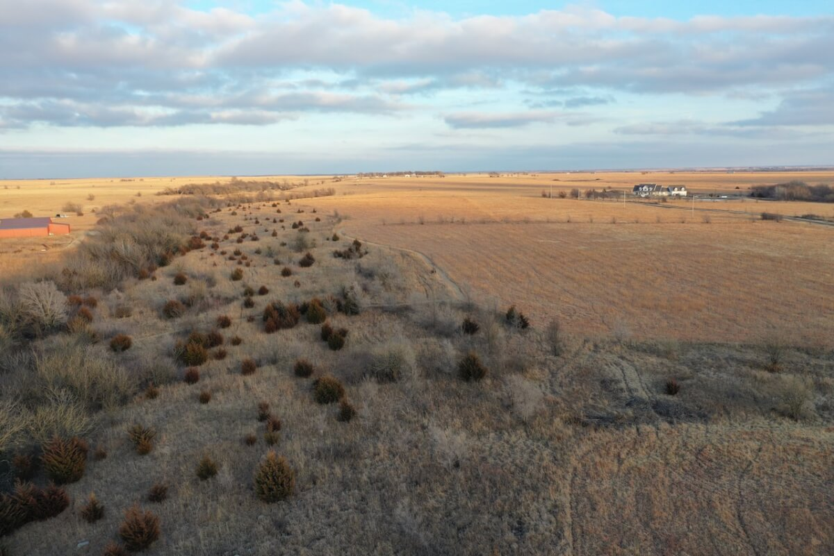 47+- Acres North Of El Dorado Kansas; Pasture, Timber, & Rolling Terrain