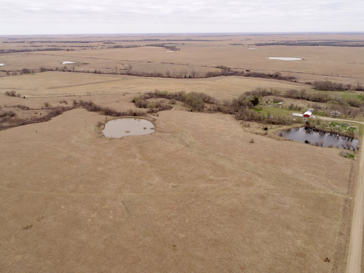 160+- Acres Greenwood County Kansas Land, House, Tools, & Equipment