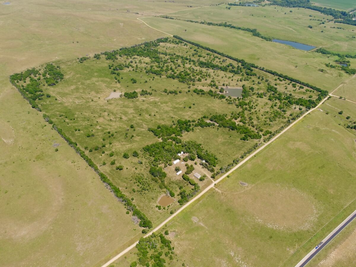 160+- Acres Cowley County, Kansas Hunting Land & Improvements For Sale