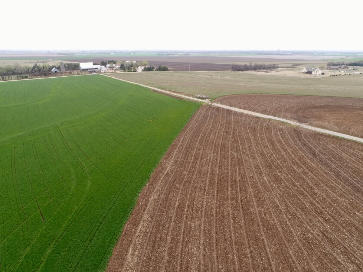 111 Acres Western Sedgwick County Kansas Tillable Farm Ground Land For Sale Colwich Andale