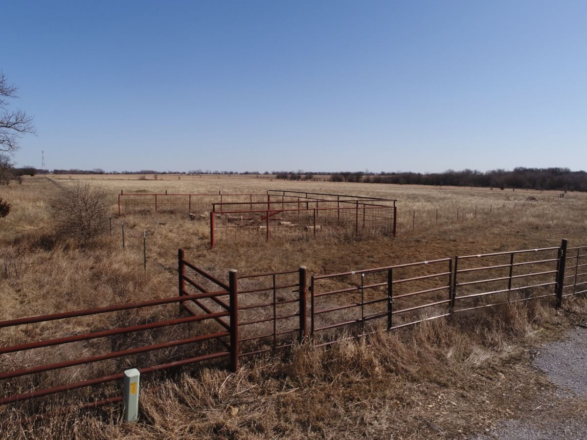 185.9 Acres Cowley County Kansas Cattle Grazing Pasture For Sale Land