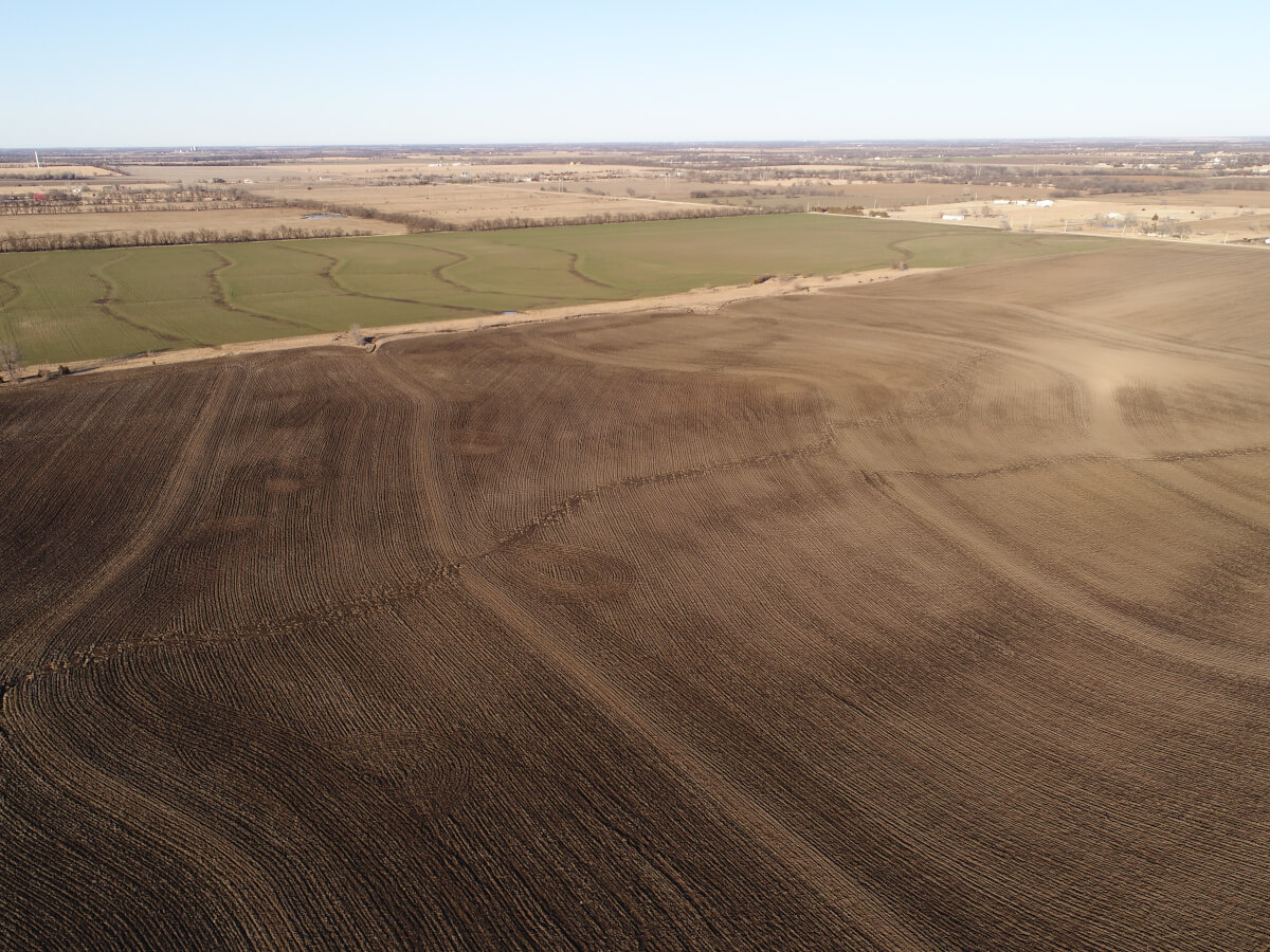 150+- Acres Sedgwick County Kansas Land – HWY 254 & Webb Rd