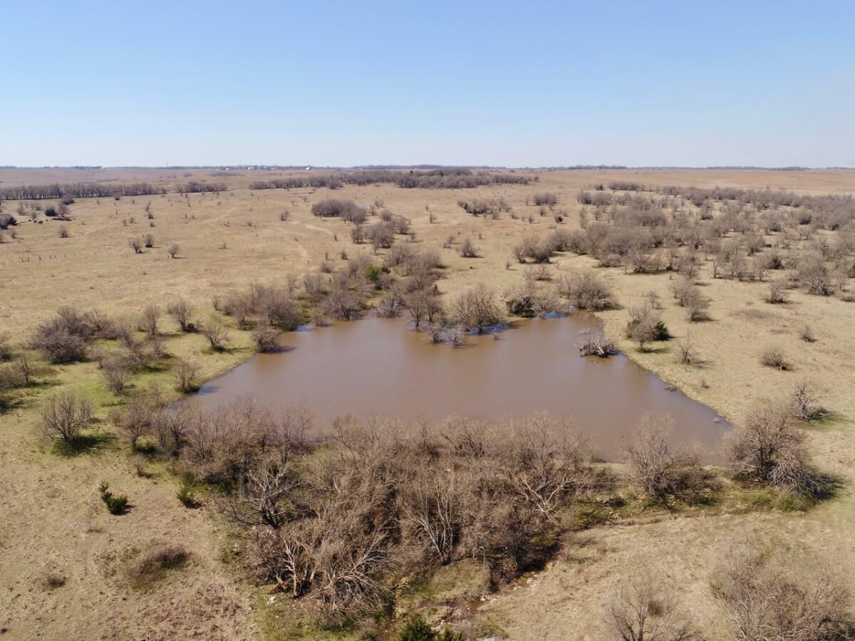 155.1+- Acres Cowley County Kansas Near Cambridge & Burden