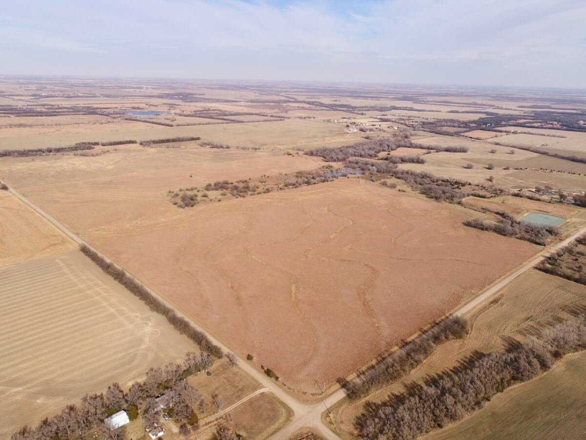 40+- Acres Sedgwick County, Kansas Land For Sale-Great Building Site & Pasture