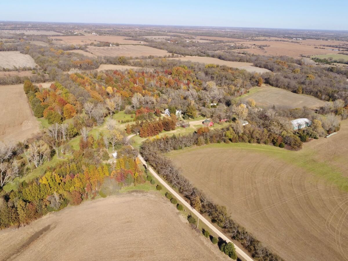 Historic Deerfoot Farm, Butler County Kansas-160+- Acres Between Douglass & Rose Hill