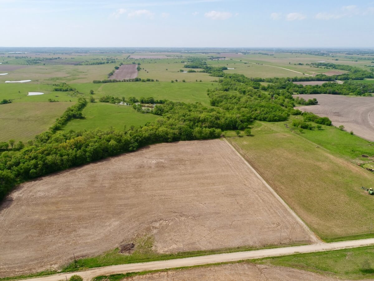 70+- Acres Lyon County Kansas Land For Sale