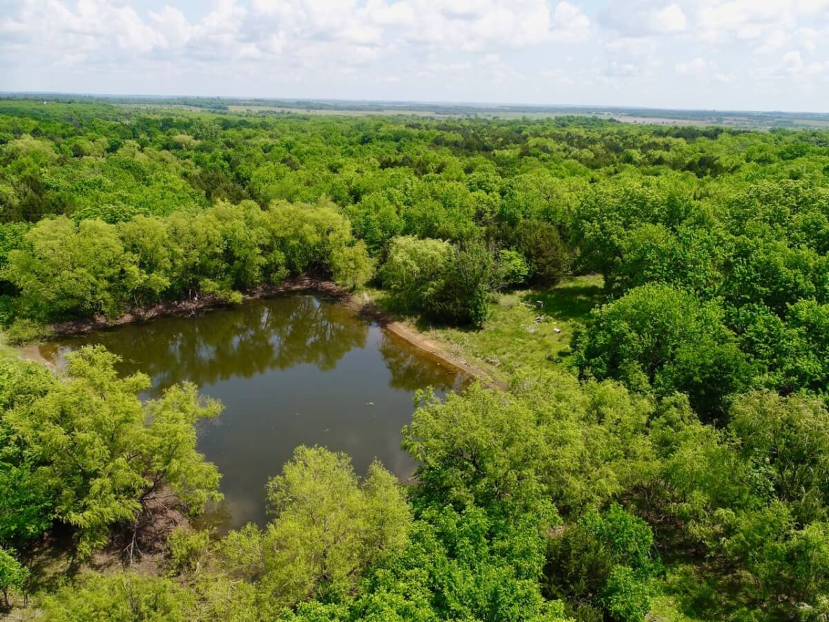 20+- Acres Greenwood County Kansas Land For Sale Near Severy