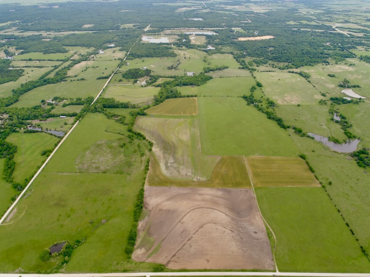 240+- Acres Tillable, Pasture, & Hunting Land For Sale Wilson County Kansas
