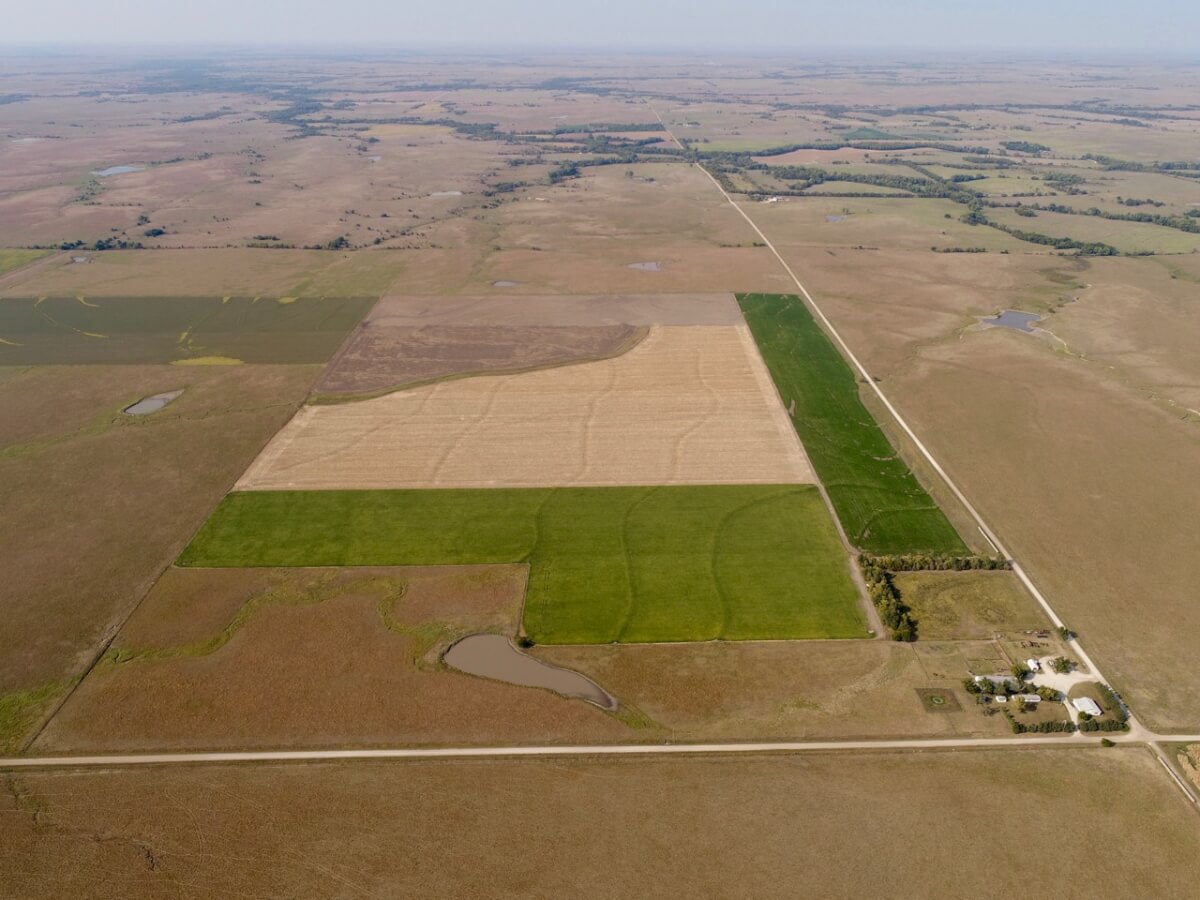 305+- Acres Kansas Flint Hills Farm For Sale, Butler/Chase County Line