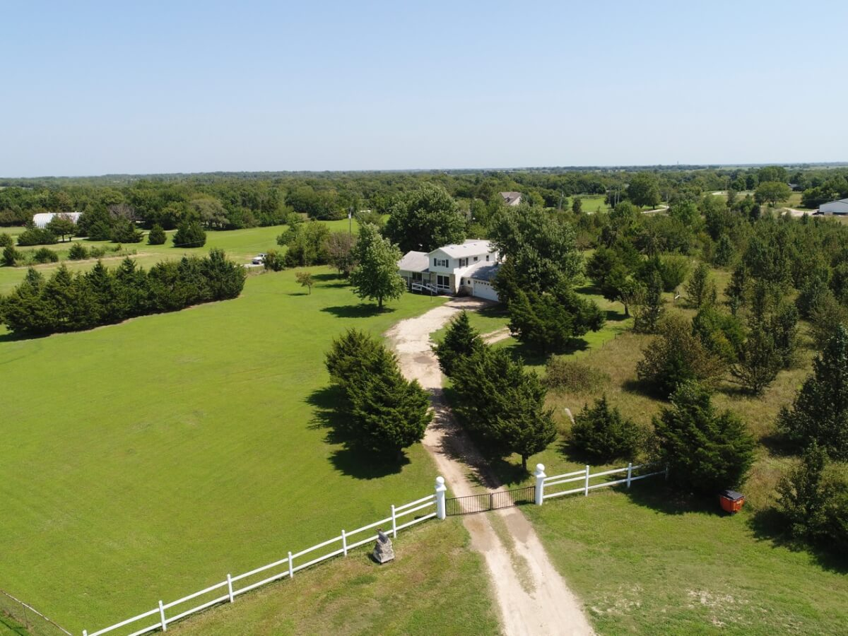 3 Bedroom 2 Bath Home on 4.9 Acres Between Andover & Augusta!  Newly Remodeled!