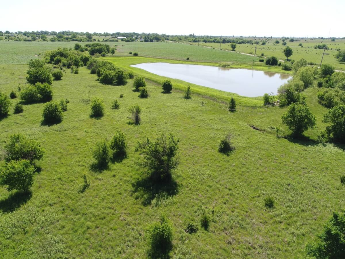 30+- Acres Butler County, Kansas Land For Sale West of El Dorado