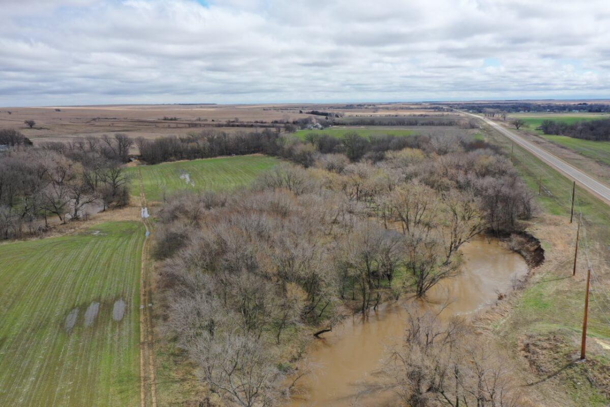 105.6 Acres w/ Homer Creek, Timber, Pasture, & Tillable; Greenwood County, Kansas