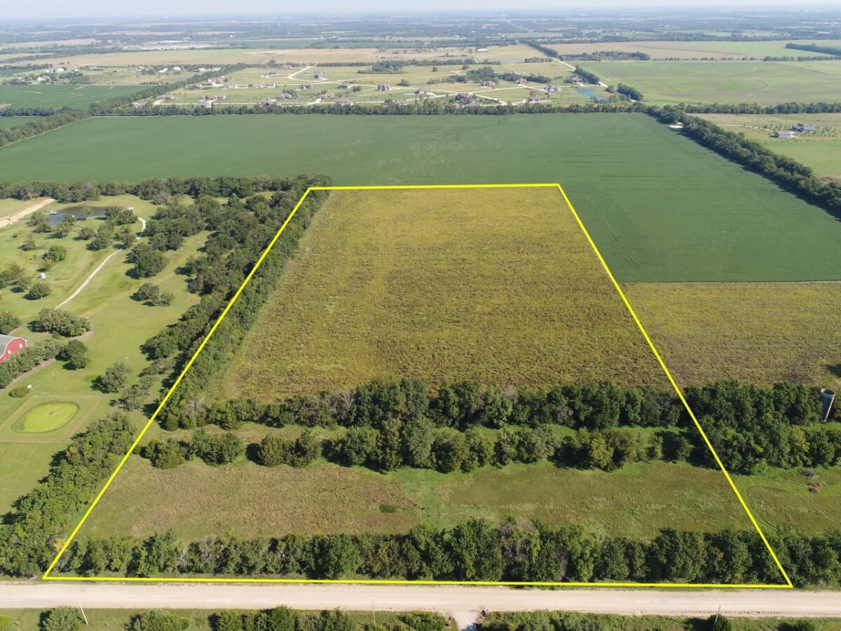 20+- Acres in Sedgwick County Between Wichita and Benton
