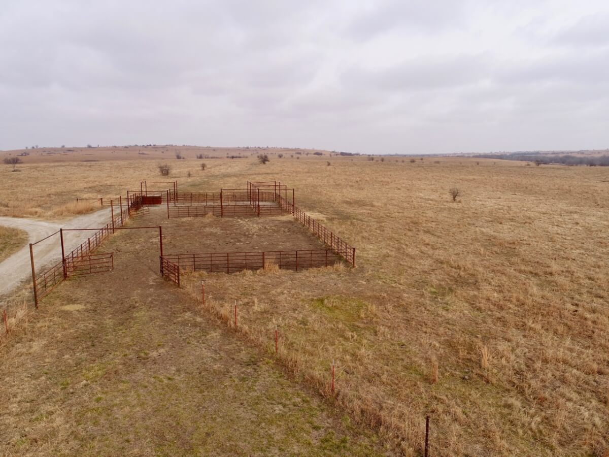 732+- Acres Greenwood County Kansas Cattle Grazing & Hunting Land For Sale