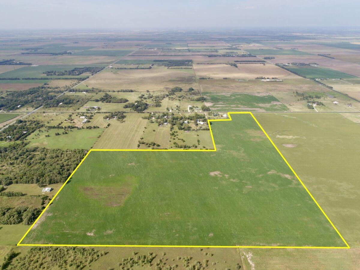 75+- Acres Sedgwick County Tillable Farm Land Near Bentley Kansas For Sale