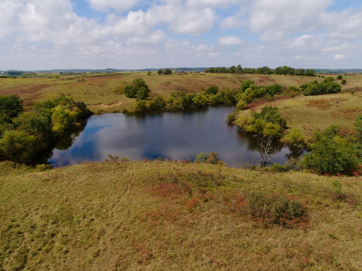 156+- Acres Wilson County Kansas Native Pasture, Timber, & Ponds