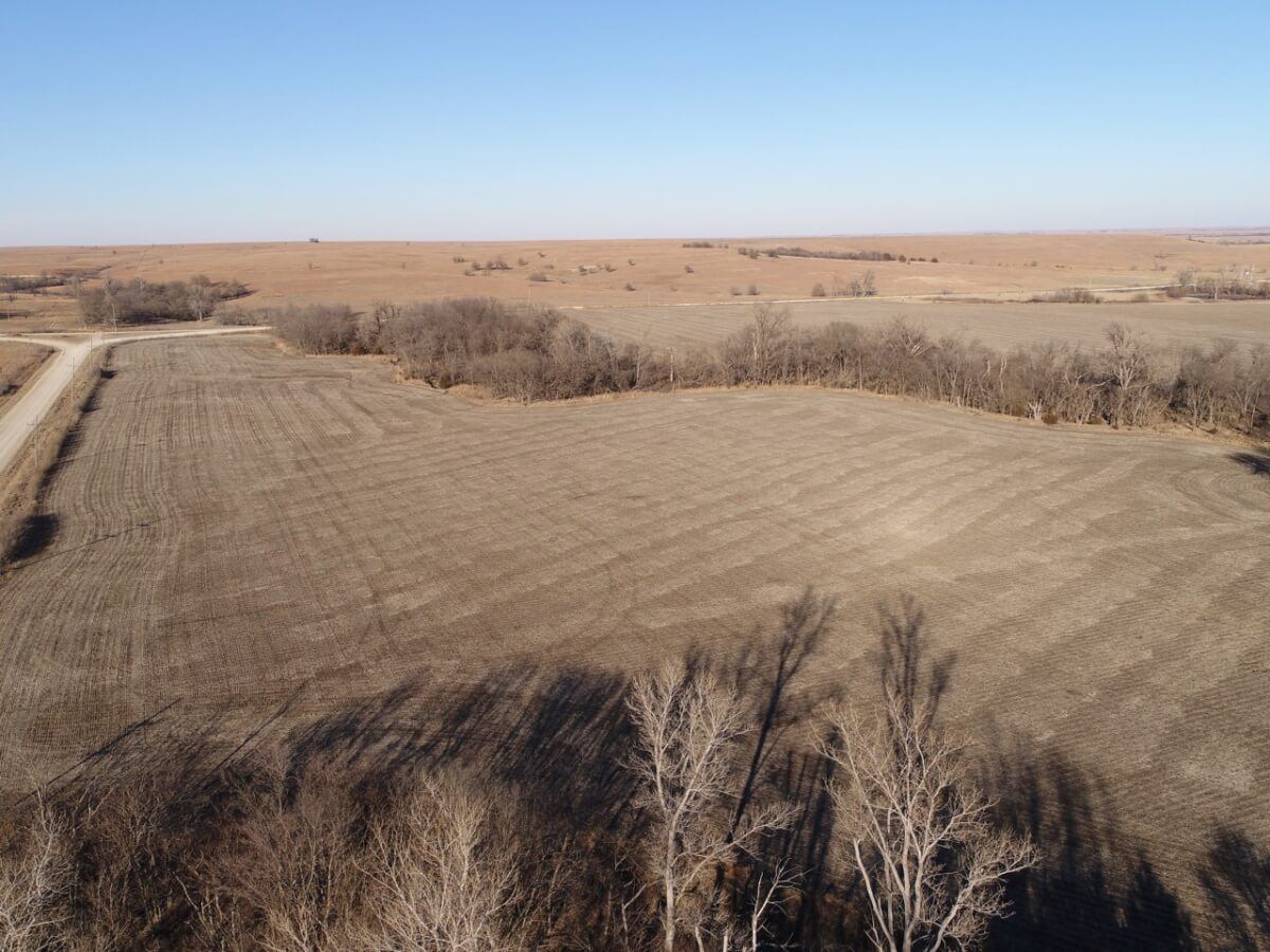160+- Acres Greenwood County Kansas Tillable, Timber, Hay Meadow, & Hunting Land For Sale