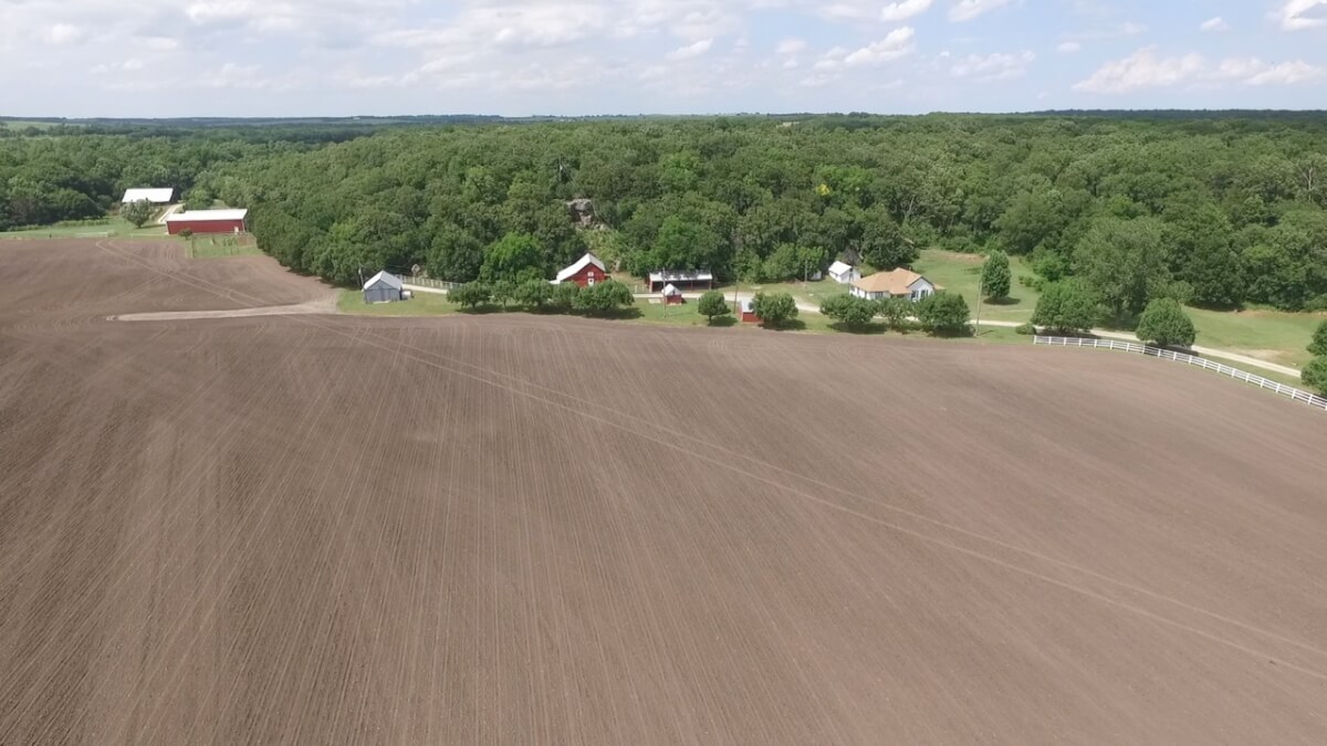 526+- Acres Sportsman's Paradise For Sale Near Fall River Kansas