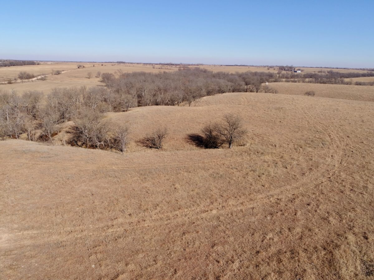 246+- Acres Native Flint Hills Pasture, Creek, Alfalfa & Timber-Butler County Kansas