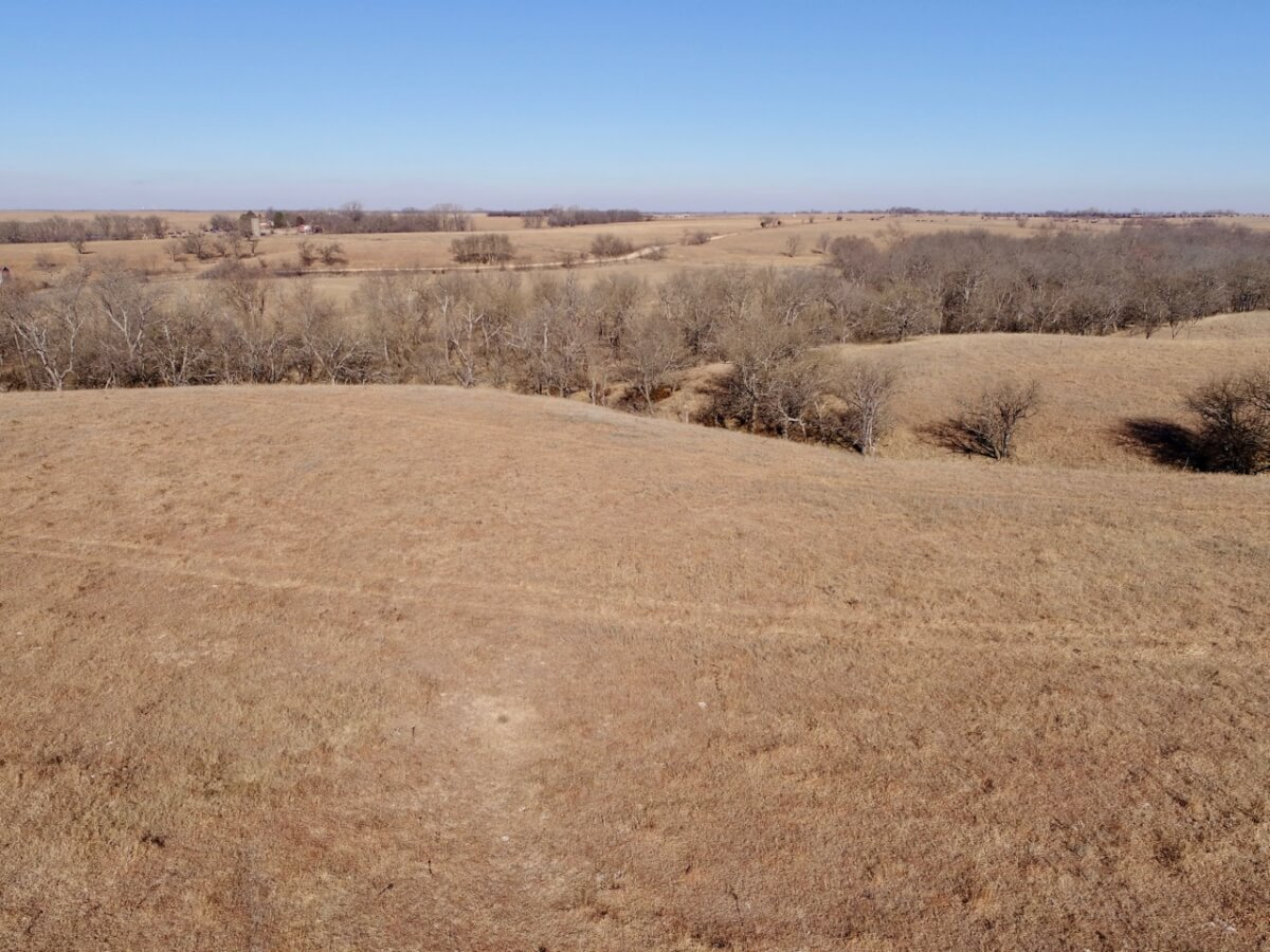246 Acres Butler County Kansas Flint Hills Land-Creek, Timber, Pasture