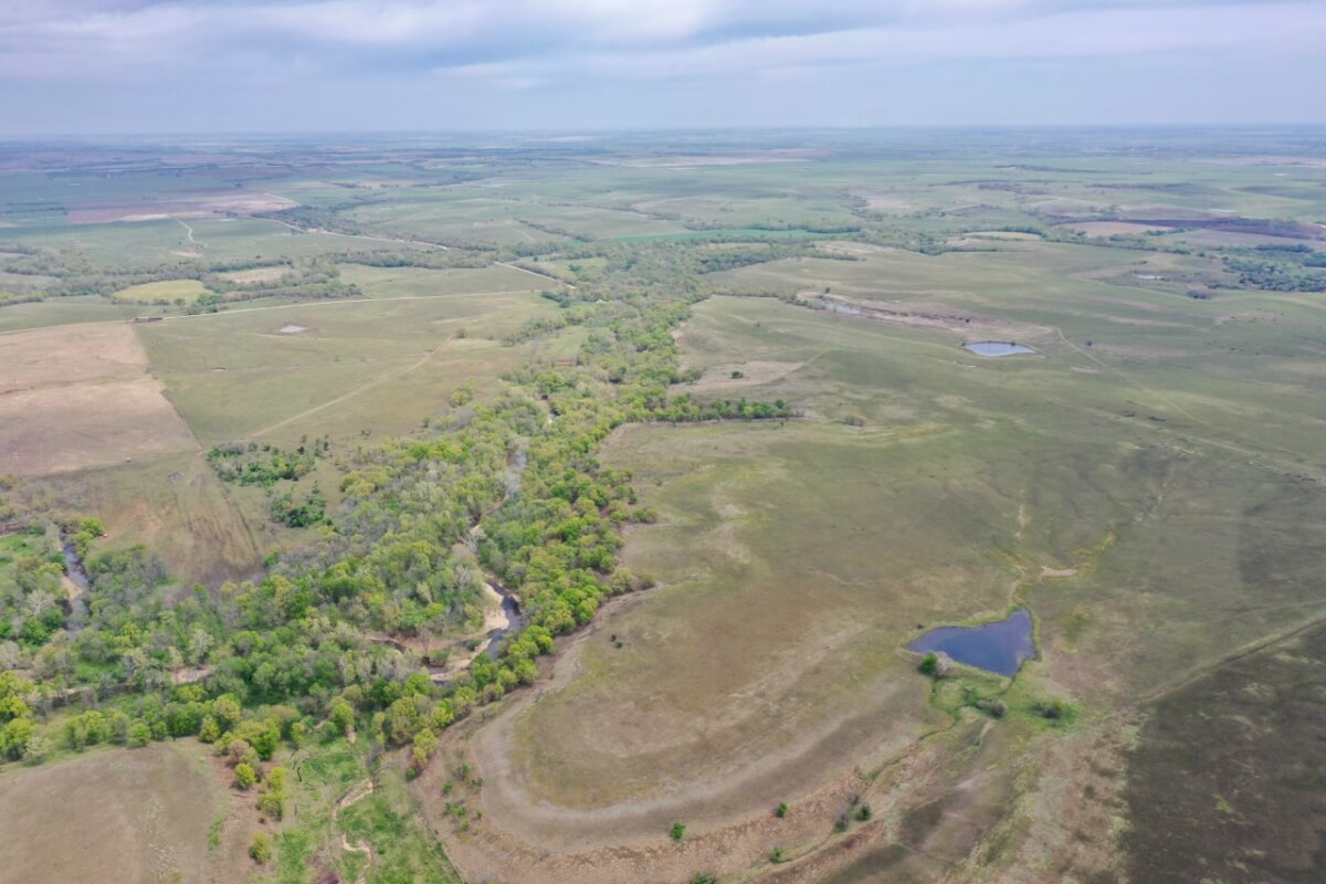 480+- Acres Greenwood County Kansas Hunting, Fishing, Cattle Grazing Ranch Land For Sale