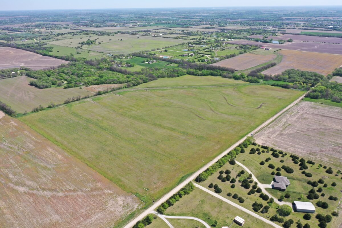 (2) 20 Acre Sedgwick County Tracts of Land For Sale Near Rose Hill, Kansas
