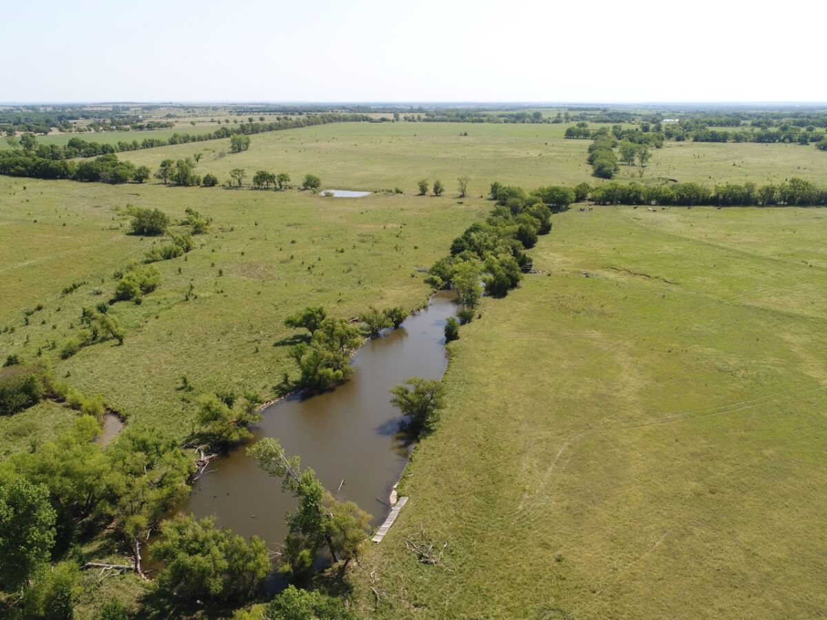 202+- Acres Greenwood County, Kansas Pasture/Hunting/Fishing Land For Sale