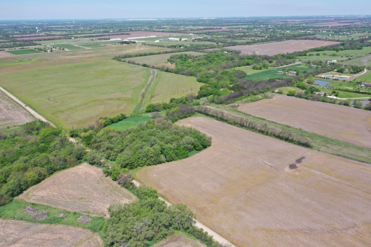 40+- Acres w/ Timber, Creek, Tillable & Brome; Southeast Sedgwick County Kansas