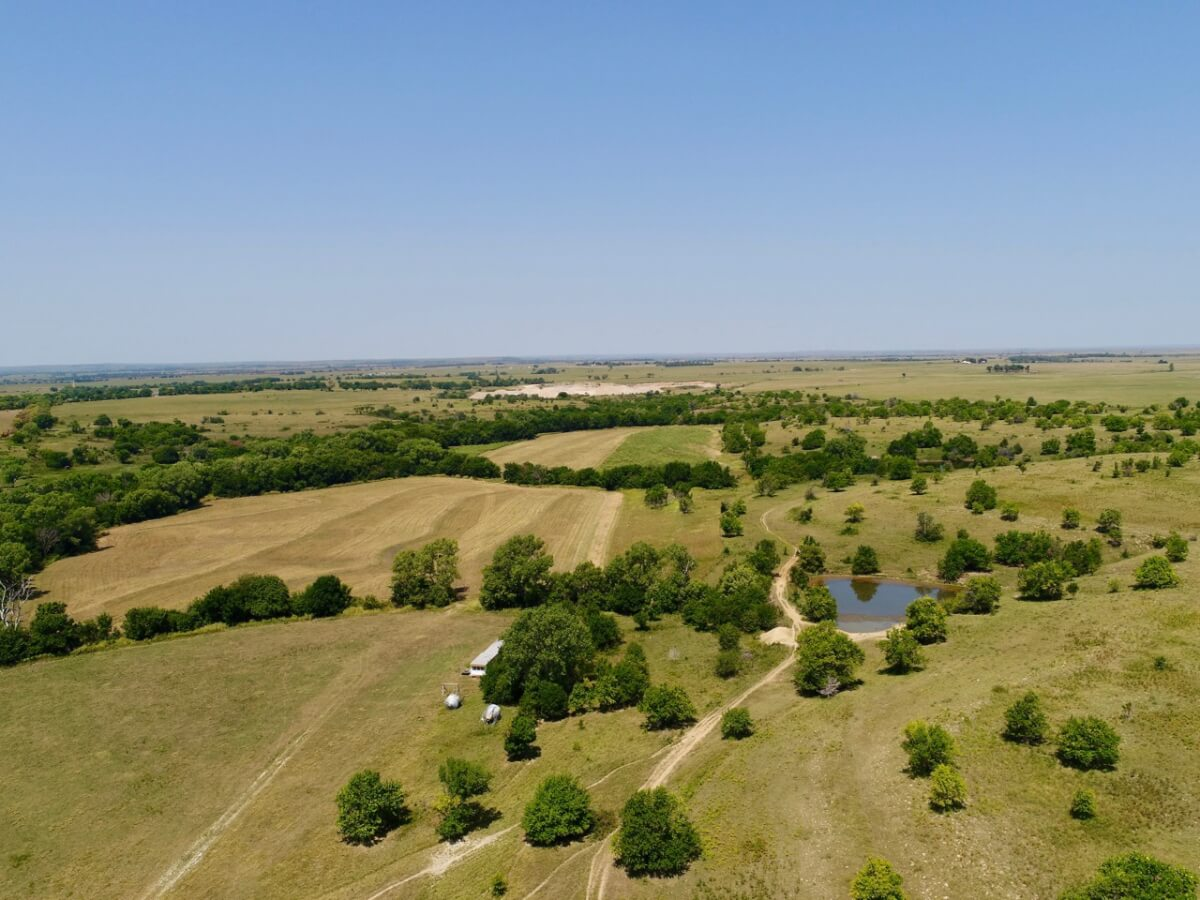 196+- Acres Greenwood County Kansas Pasture, Tillable, & Hunting Land