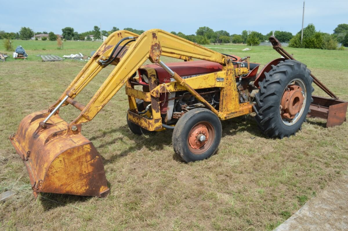 Tractors, John Deere Mowers, Tools, Household Misc. Auction ...