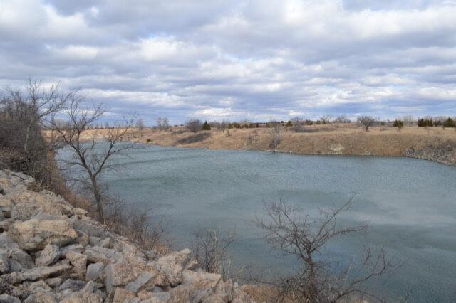 607 8+- Acres Elk County Kansas, Rock Quarry, Lakes, Cabin