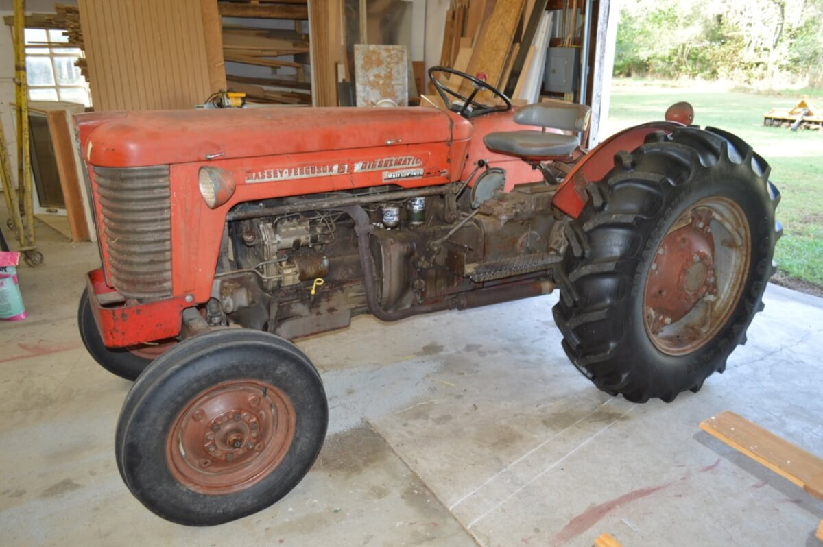 MF Tractor, Woodworking Equip, Tool & Equipment Auction Near Valley Center