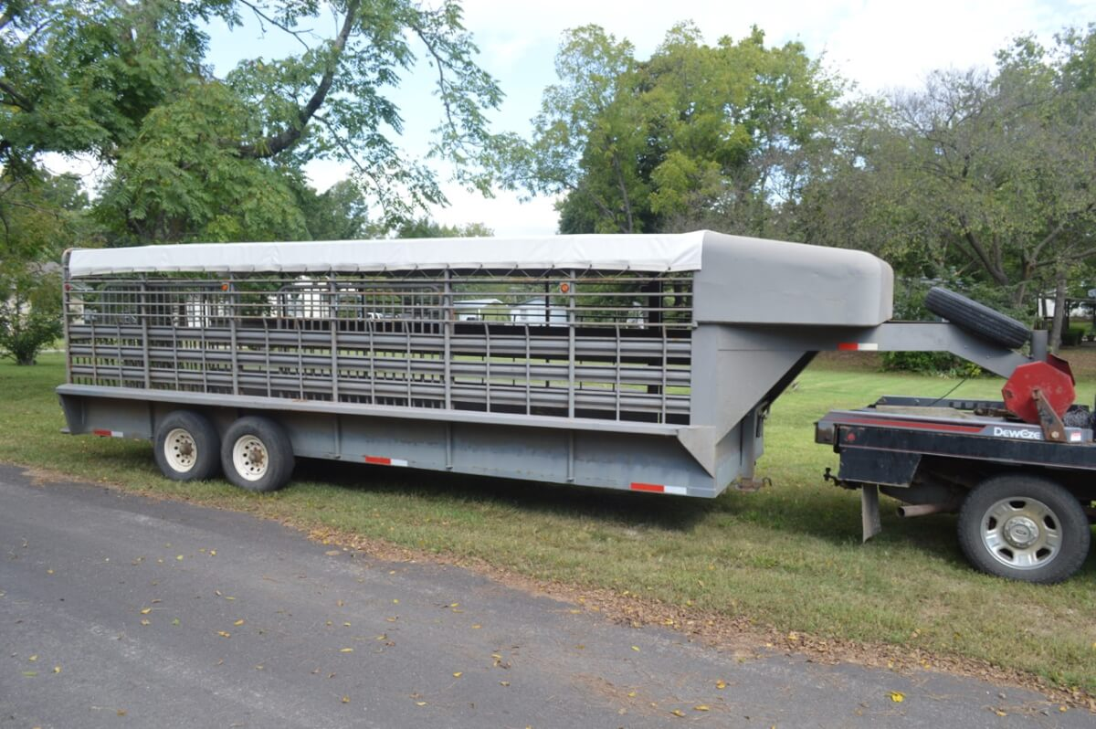 Stock Trailer, Vehicles, Guns, Tack, Livestock Equipment, Tools, Household Auction