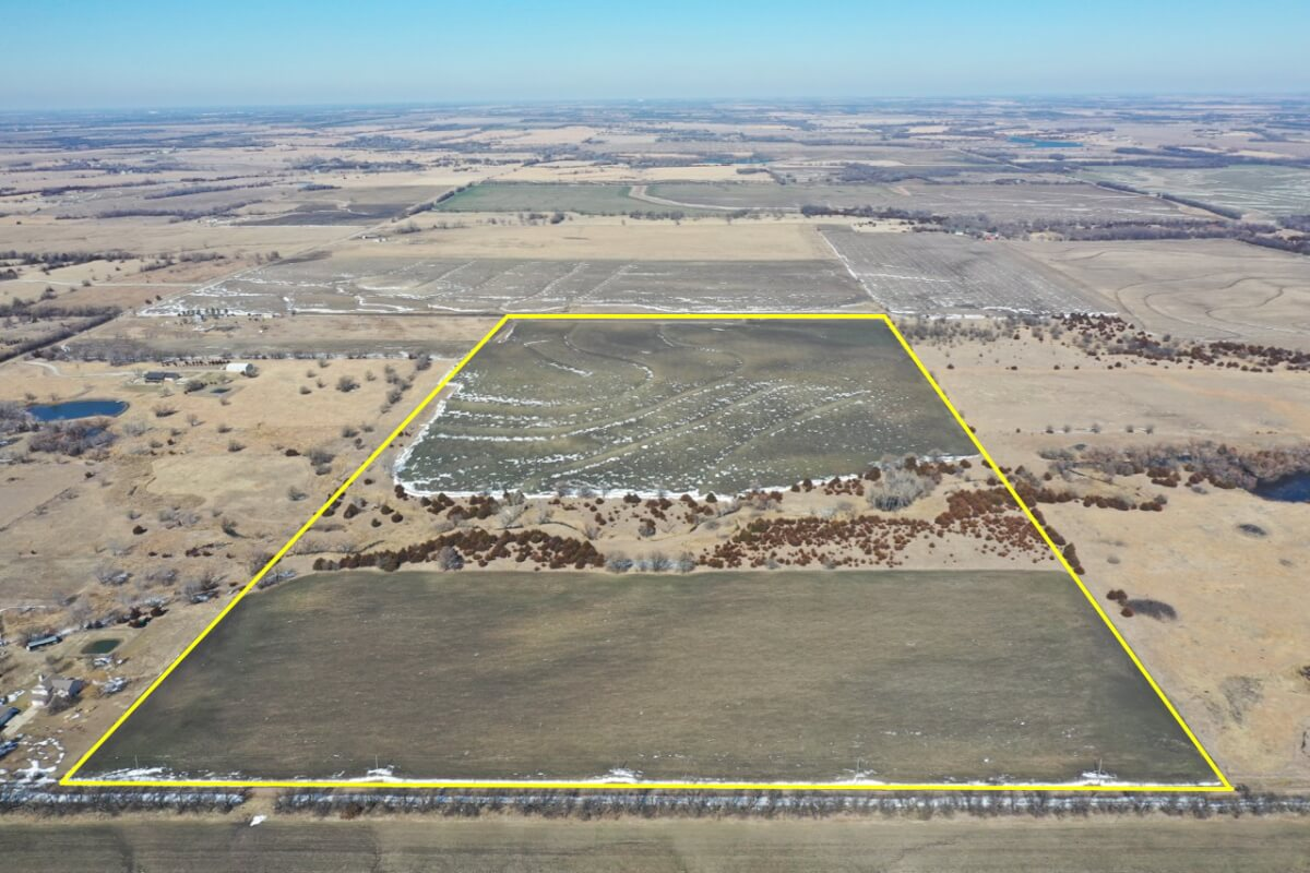 80+- Acres Sedgwick County, Kansas Land For Sale