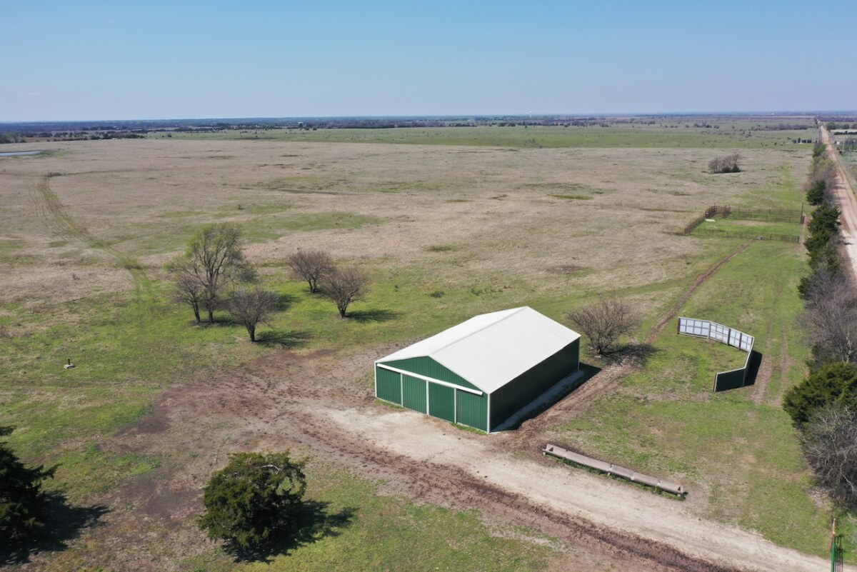 80+- Acres Between El Dorado & Leon, Butler Co Ks; Building, Water Meter, Livestock Pens, Pond